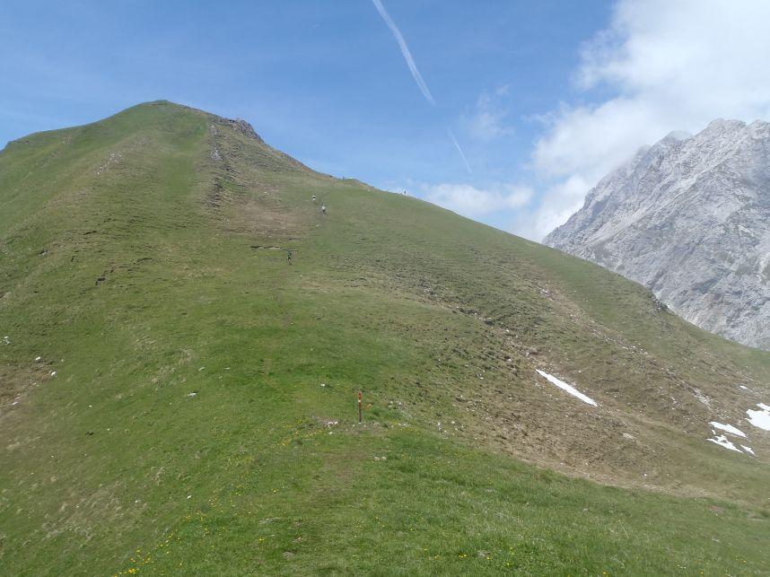 Abstieg Feldernjöchl