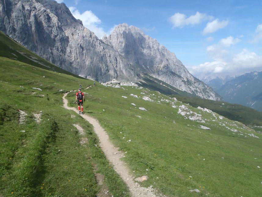 Aufstieg Scharnitzjoch